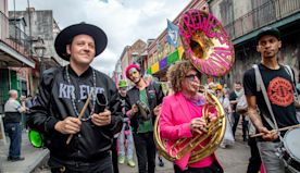Watch Arcade Fire Celebrate Carnival With Preservation Hall Jazz Band in 'Iko Kreyol' Video