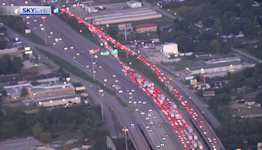 I-10 westbound lanes shut down after person hit and killed on freeway