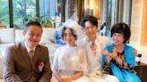梁舒涵為《廢財》首披婚紗 李亦捷當伴娘露乳溝怕把妝哭花