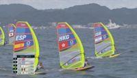 男子滑浪風帆 港隊鄭俊樑無緣獎牌賽