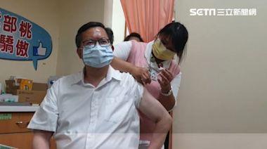10縣市長施打疫苗 鄭文燦搶頭香