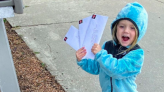 This Sweet 4-Year-Old Delivering Letters to Nursing Homes Will Brighten Your Day