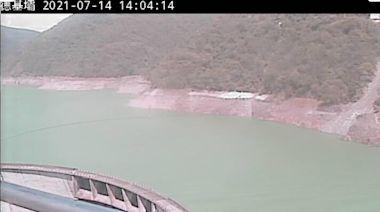 西南氣流大雨挹注!德基水庫蓄水量破1.1億噸