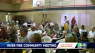Community in Placer County meets to discuss steps after the River Fire