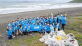 禮藍動保「全球使命日」蘇澳無尾港淨灘 還給動物一片淨土