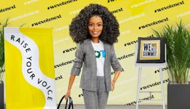 Yara Shahidi's vote-themed Barbie doll is back for 2020 election