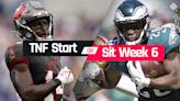 Buccaneers vs. Eagles Fantasy Football Start 'Em Sit 'Em for Week 6 'Thursday Night Football'