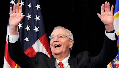 Former US vice president Walter Mondale dies aged 93