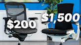 Is This $1,500 Herman Miller Office Chair Better Than a $200 Competitor?