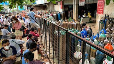 英國示警:緬甸疫情告急 兩週內半數人口恐染疫