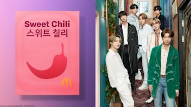BTS防彈少年團麥當勞專屬套餐醬料包上印韓文全球發售!韓國ARMY超自豪:世宗大王,您看到了嗎