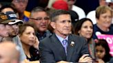 QAnon patriot Michael Flynn forgets the words to the Pledge of Allegiance