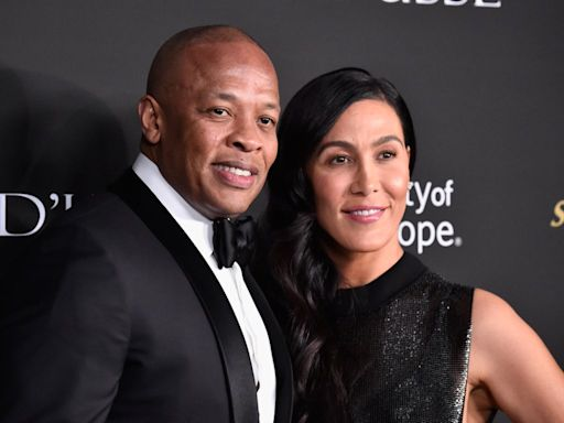 Dr Dre 'angry' at being served divorce papers at grandmother's funeral