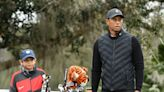 Tiger Woods' Son Charlie Has a Golf Swing Just Like Dad's in These Rare New Photos