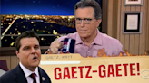 Colbert: The Afghanistan war is so old it can't even date Matt Gaetz