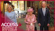 Queen Elizabeth Welcomes President Joe Biden & First Lady Jill Biden For Tea At Windsor Castle