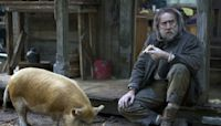 Nicolas Cage describes acting opposite a pig — and reveals his favorite fast food