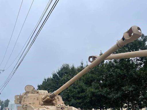 美鐵雷營將接裝新砲車