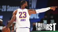 Chris Broussard shares his new NBA MVP pick; LeBron James now has slim chances to win   FIRST THINGS FIRST