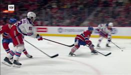 Alexis Lafrenière with a Goal vs. Montreal Canadiens