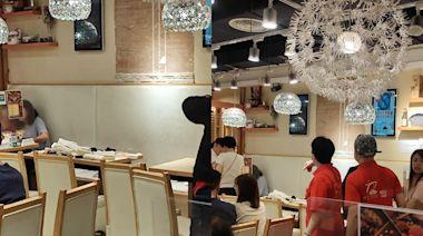 大埔餐廳塌牆身掛飾 3食客「中頭獎」送院