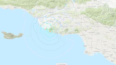 3.6 magnitude earthquake strikes south of Camarillo