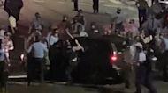 Philadelphia police drag family from SUV