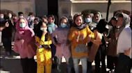 Girls soccer team rescued from Afghanistan