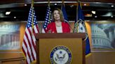 Mocking Trump, Pelosi says 2024 run means he'd be 'impeached twice and defeated twice'