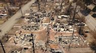 What is lost: California fires leave a ghost town