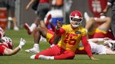 Chiefs QB Patrick Mahomes healthy, expects 'no restrictions' for training camp