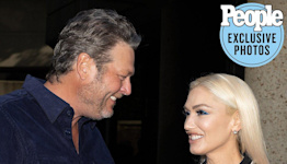 Gwen Stefani Thanks Blake Shelton for 'Letting Me Ride Your Coattails' into Country Music at Nashville Show