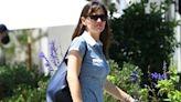 Jennifer Garner Stuns In Gorgeous Blue Floral Dress As Bennifer Reunion Heats Up — See Photo
