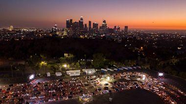Los Angeles converts Dodger Stadium test site into vaccine center