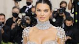 Kendall Jenner Looks Angelic in a Sheer Jeweled Dress at the 2021 Met Gala