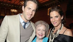Sandra Bullock & Ryan Reynolds Fight For 'The Proposal' Co-Star Betty White's Love On Her 98th Bday