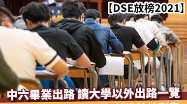 【DSE放榜2021】中六畢業出路 讀大學以外出路一覽 附大專課程、VTC課程、毅進院校列表