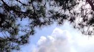Cloud of Ash Wafts Over La Palma Amid Continued Volcanic Eruptions