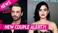 Heating Up! Skeet Ulrich Flirts With Lucy Hale After PDA Pics