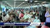 Carnival cruise ship sets sail from Port of New Orleans, marks return of cruise industry