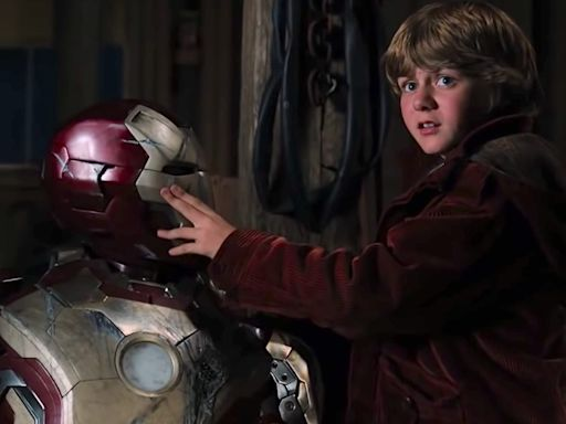 Disneyland's upcoming Avengers Campus teases the return of an 'Iron Man 3' character and the possibility of a 'Young Avengers' movie down the line