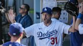 Max Scherzer records 3,000th strikeout, flirts with perfect game in Dodgers' sweep