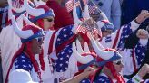 Golf fans spontaneously belt out national anthem, 'USA' chants at Ryder Cup