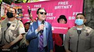 Matt Gaetz calls out Jamie Spears during speech outside Britney Spears's conservatorship hearing