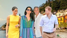 The Truth About Prince Harry and Meghan Markle's Friendship With George and Amal Clooney - E! Online