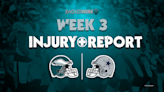 Eagles vs. Cowboys Thursday injury report: Miles Sanders limited in practice