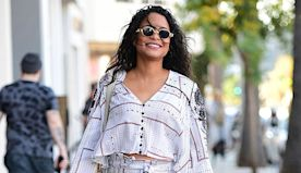 Christina Milian Shows Off Her Post-Baby Body In A Leopard Print Bikini 7 Months After Welcoming 2nd Child