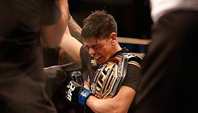 Fans erupted on social media after Brandon Moreno's historic win at UFC 263