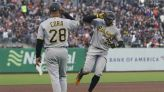 Gregory Polanco, Kevin Newman have 3 RBIs as Pirates pound 16 hits to beat Giants