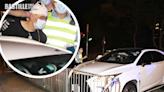 瘋狂私家車時速200衝路障狂飆13km 司機涉藏毒酒駕襲警等罪被擒   社會事